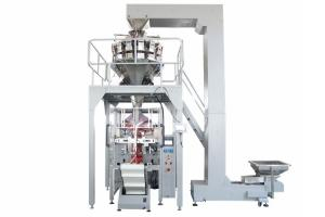 China 20g 50g Sachet Roasted Cashew Nuts Packaging Machine 14 Heads Weigher on sale