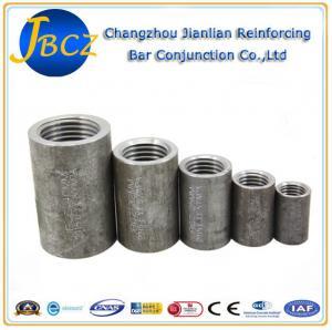 Quality Carbon Steel Reinforcing Bar Rebar Splice Coupler 12-40mm Effectivitely for sale