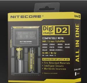 China 2014 new Nitecore digicharger D2 intellicharger D2 charger LCD battery charger on sale
