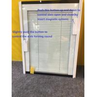 Customized Magnetic Insulating Glass Blinds