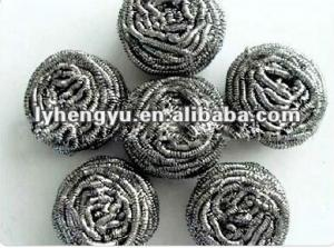 China stainless steel scourer on sale