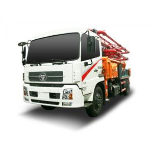 China Anti - Tilting Control Technology Special Purpose Truck 4*2 Drive Type Concrete Pump Truck on sale
