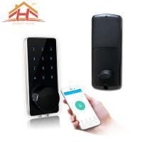 Commercial Bluetooth Keypad Door Lock , Smart Lock Bluetooth Keyless Home Entry
