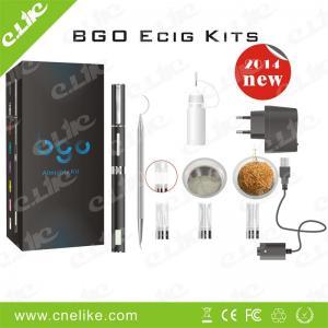 China 3 in 1 Dry herbal E-cigarette Bgo Vaporizer Pen on sale
