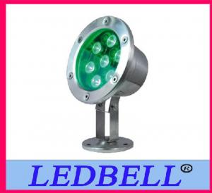 China 7w IP68 Underwater Led Pool Light , Led Underwater Lamp For Fountain on sale