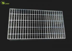 China Steel Cover Mesh Hot Dip Galvanized Bar Grating Floor Ginged Grate Plain Grid on sale