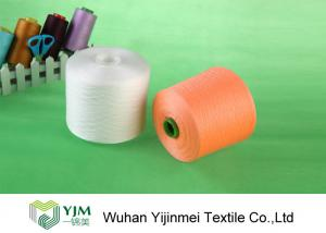 China 22/2 Plastic Tube 100% Polyester Spun Yarn With Ring Spun / TFO Technics on sale