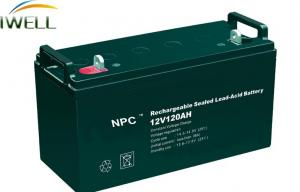 China High Power 120Ah Rechargeable Sealed Lead Acid Battery 12v For Power Tools on sale