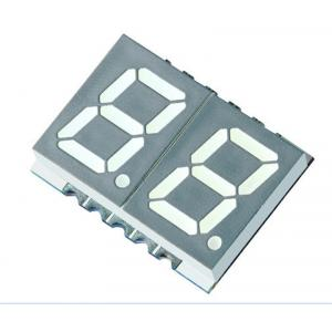 China Double Digit 7-Segment LED Display, CA Red 36 mcd RH DP 10mm on sale