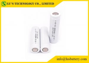 China Rechargeable Nickel Cadmium AA Batteries , High Temperature AA Battery 1.2V 800mah supplier