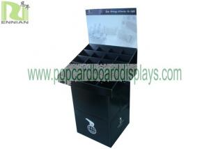 China Grey Paper Customized Cardboard Pallet Display For Dvd With Grey Cardboard on sale