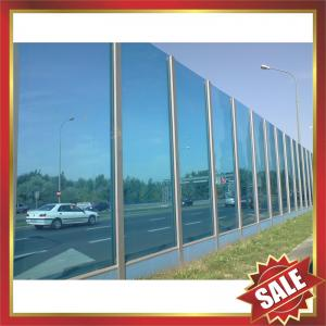 China Polycarbonate sheet,pc sheet,polycarbonate plate for highway sound barrier sound barrier-excellent road sound barrier on sale