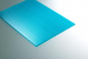 China 4mm / 6mm / 8mm / 10mm Polycarbonate Roofing Sheets For Outdoor Construction on sale