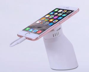 China Smart Phone Interactive Security Display Stand / White Phone Display Security on sale