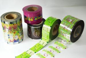 China PE stretch film for automatic shrink packing machine , PE film roll on sale