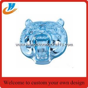 China China factory custom Animal shape metal fridge magnets,magnetic fridge badge for sale on sale