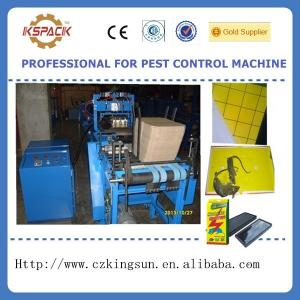 China mouse trap glue board making machine,fly killer glue board making machine,mouse glue board production line on sale