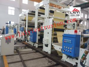 China Label / Self - Adhesive Poly Coating Machine , Hot Lamination Machine With Linkage Control on sale