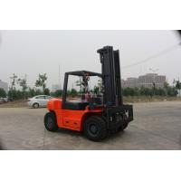 FD powerful  6T Diesel forklift work for steel factory with Xinchai 6110 engine with full solid tyre& double front tyre