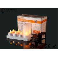 4set / 6set / 8set / 12set Rechargeable Tea Lights With Remote Control
