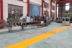 China PET 20L 5 Gallon Water Filling Machine 200BPH Counter Pressure Bottling System on sale