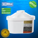 Ion Exchange Resin Drinking Water Filter Cartridge For Water Purifier Jug