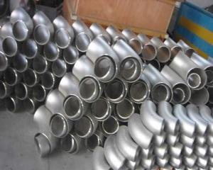 China SS31803 ELBOW BW SEAMLESS FITTINGS 1---10 BUTTWELD FITTINGS on sale