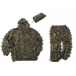China Realtree Leafy Hunting Suit 3D Camo Suit Set Ultra Light Shadow Brown Leafy Suit on sale