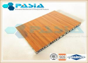 China Bamboo Pattern Veneer Honeycomb Composite Panels For Boat Building Abrasion - Proof on sale