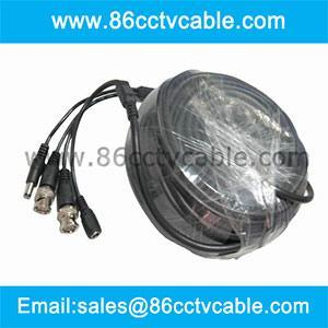 China Heavy Duty CCTV Video Power Plug Play Cable, CCTV cable, Coaxial cable on sale