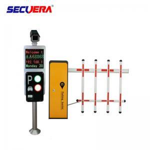 China Car Parking System Solutions Turnstile Barrier Gate With Car Camera / Parking Sensor on sale