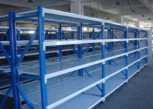 China Steel Warehouse Light Duty Storage Rack , Industrial Racking Systems Adjustable on sale