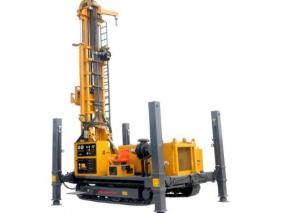 China Steel Crawler Mounted Rotary 260m Portable Drilling Rig For Water Well on sale