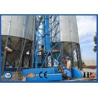 1112m3 Corrugated Steel Grain Silo Roll Forming Machine , Silo Equipment