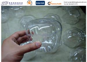 China Acrylic PC PP Plastic Injection Molding For Dummies / Small Clear Container Boxes Precision on sale