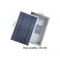 RV Boat Greenhouse PV Solar Panels 25 Watt UV - Resistant Silicone Material
