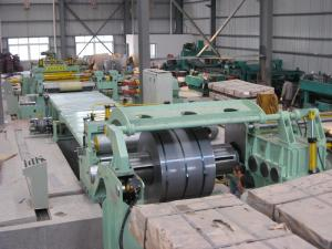 China Galvanized Steel Strips Metal Slitting Machine For Coil Cutting on sale