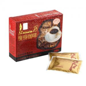 China Leisure 18 Slimming Coffee 18bag * 10g, fat accumulation and toxin accumulation wholesale