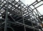 Prefabricated Multi Storey Steel Frame Construction / Steel Warehouse Buildings