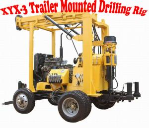 China XYX-3 Trailer Mounted Drilling Rig on sale