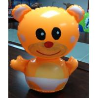 Cute Winnie Pooh Inflatable Water Toys For Kids Orangele Color