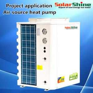 China Industry High Efficiency Air Source Heat Pump 4.10 - 4.13 Cop Long Life Span on sale