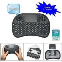 China Black Wireless Dpi Adjustable Touchpad Keyboard for Mini PC on sale