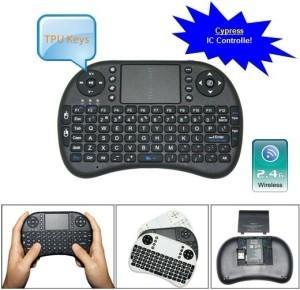 China Black Wireless Dpi Adjustable Touchpad Keyboard for Mini PC on sale