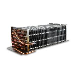 China Water Cooled Condenser/Copper Tube Aluminum Fin Condenser Coil refrigeration parts on sale