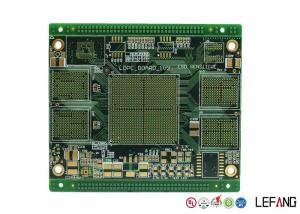 China Quick Turn Multilayer Printed Circuit Board 10 Layers PCB Prototype 1 OZ Copper on sale