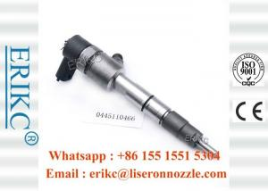 China ERIKC 0445110466 Bosch Diesel Jet Fuel Injector 0 445 110 466 Bico Auto Parts 0445 110 466 for JAC HF4DA1-2C on sale
