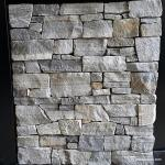 Cloudy White Natural Mesh Backed Stone , Mesh Mounted Garden Wall Stone