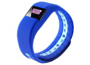 China Blue Smart Fitness Bracelet Activity Bluetooth Mens Sports Bracelets on sale