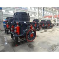 4/3 Ft Single Cylinder Hydraulic Cone Crusher / Rock Crushing Equipment For Gold Ore Iron Ore